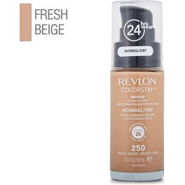 Revlon Colorstay Foundation Normaldry Skin 250-fresh Beige 30 Ml Mujer