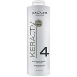 Postquam Haircare Keractiv Reconstructor Shampoo With Keratin 1000 Ml Mujer