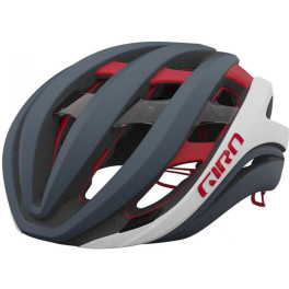 Giro Casco Aether Mips Spherical 2021 Portaro Gris – Blanco – Rojo