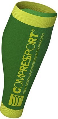 Compressport Perneras R2 v2 - Verde Fluor