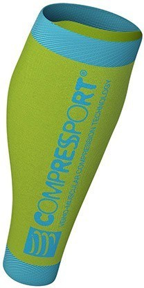 Compressport Perneras R2 v2 - Amarillo Fluo