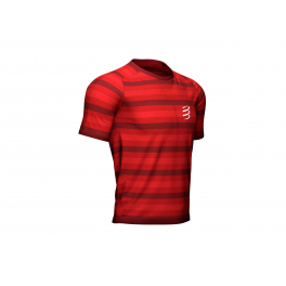Compressport Camiseta Performance Ss Tshirt Rojo