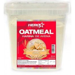 Hero Oatmeal Harina de Avena Natural 2 Kg