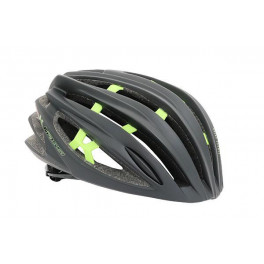 Massi Casco Team Negro Mate/verde M