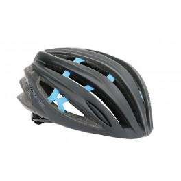 Massi Casco Team Negro Mate/azul M