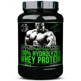 Scitec Nutrition 100% Hydrolyzed Whey Protein 910 gr