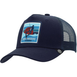 The Indian Face Born To Wakeboard Blue Gorra