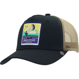 The Indian Face Born To Kitesurf Blue And Brown Gorra