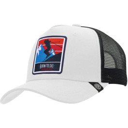 The Indian Face Born To Ski White / Black Gorra