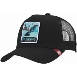 The Indian Face Born To Snowboard Black Gorra