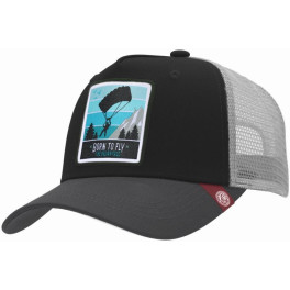 The Indian Face Born To Fly Black / Grey Gorra