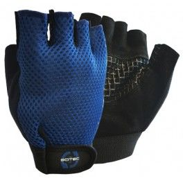 Scitec Guantes Basic Blue